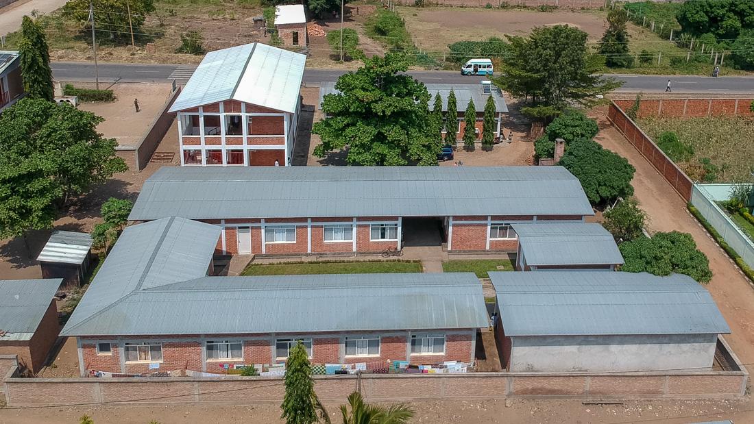 Luftbild Spitalanlage