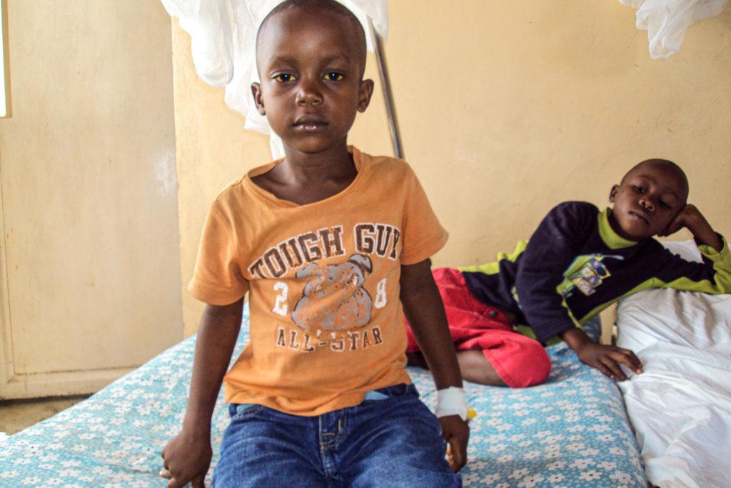 10 jähriger Junge mit gbeheilter Malaria